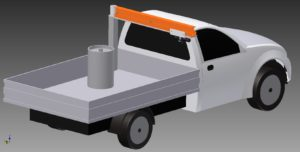 Utility Vehicle with Safe Lift System