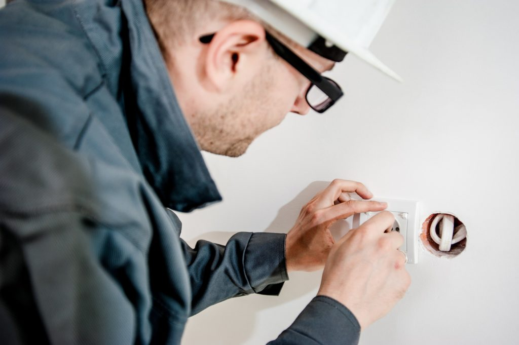 Electrician, electrical work