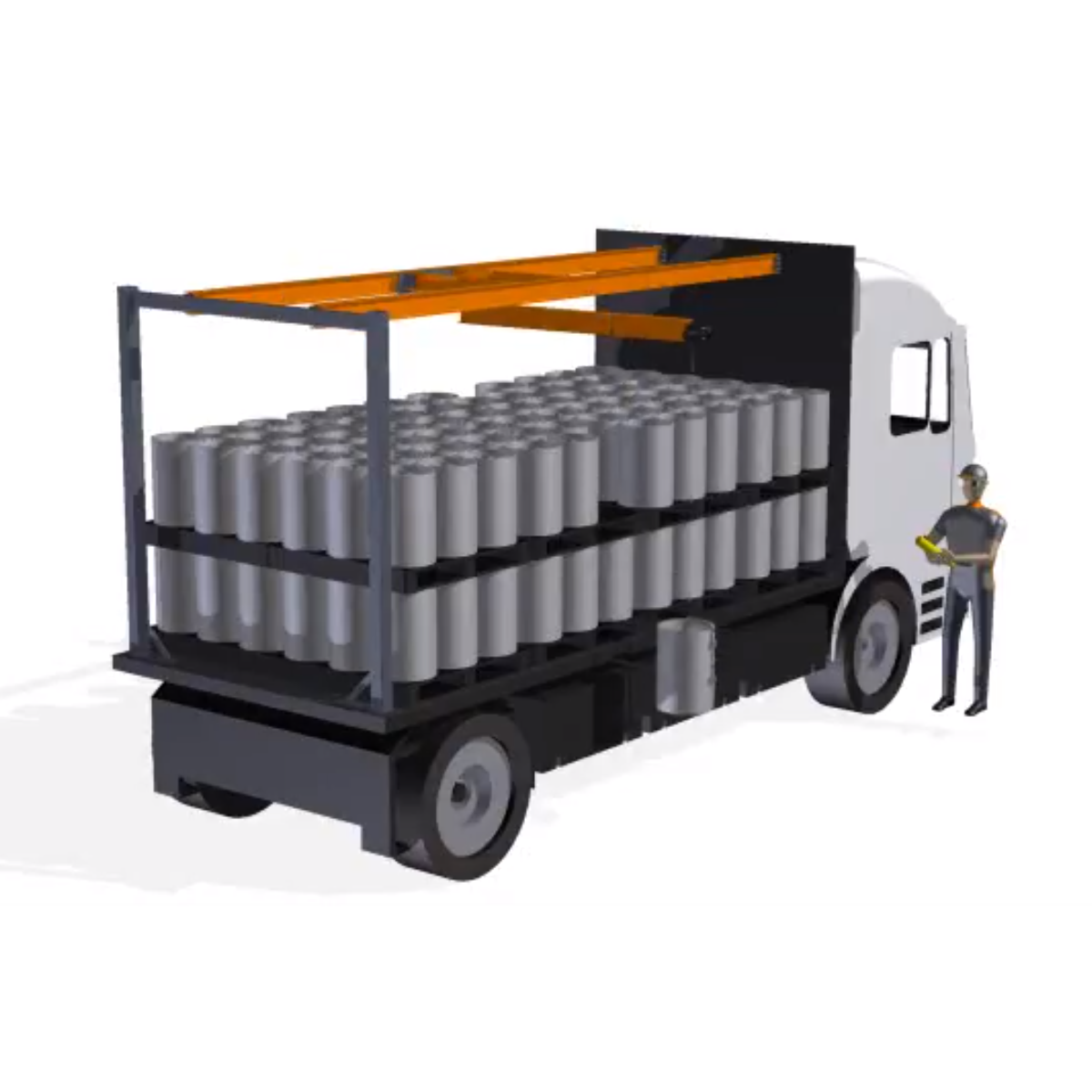 Safe Lift System for Trucks