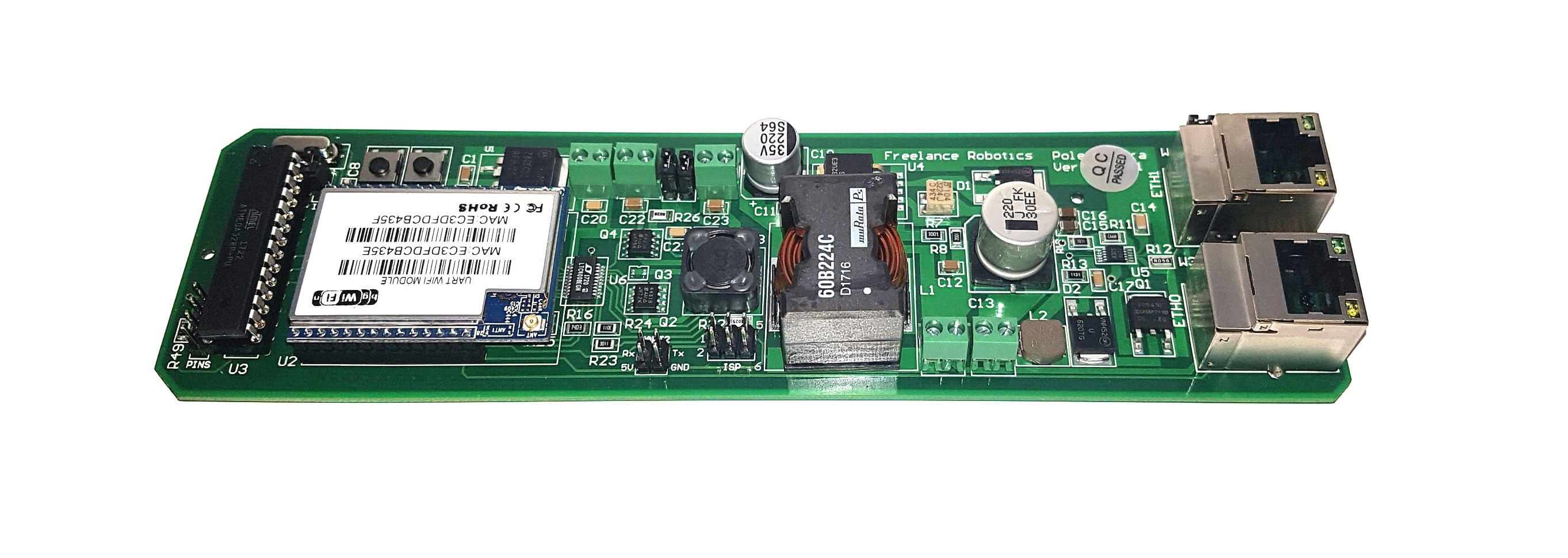 Custom Printed Circuit Boards Pcb Freelance Robotics Board Is A Used In Electronics I Use It As By